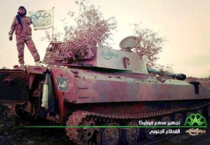 مدينة تحت الأرض لقيادة جيش الأسد في قبضة المعارضة