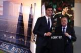 ريال مدريد يقدم حارسه الجديد كورتوا لوسائل الإعلام