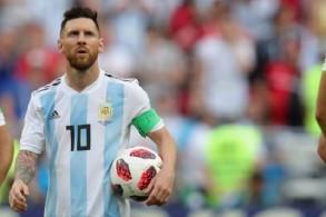 ميسي لن يشارك مع الأرجنتين في المباريات الأربع المقبلة