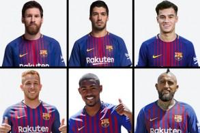 تضم تشكيلة برشلونة التي سافرت الى المغرب، أربعة لاعبين من خارج دول الاتحاد الأوروبي