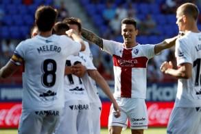 فوز تاريخي لهويسكا في الدرجة الأولى الإسباني
