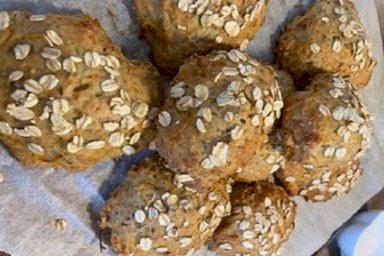 الخبز بالشوفان