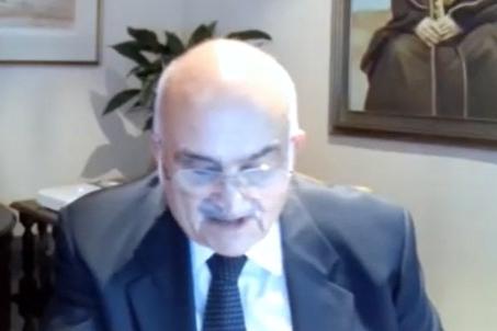 الحسن بن طلال متحدثا في ختام المنتدى (صورة عبر الانترنت)
