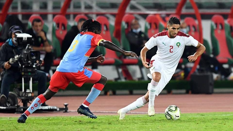 منتخب المغرب يتعادل بالرباط أمام الكونغو الديمقراطية