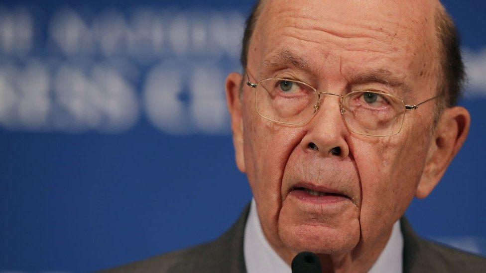 قال وزير التجارة الأمريكي، ويلبور روس، إن الورادات ربما تكون قد أدت إلى