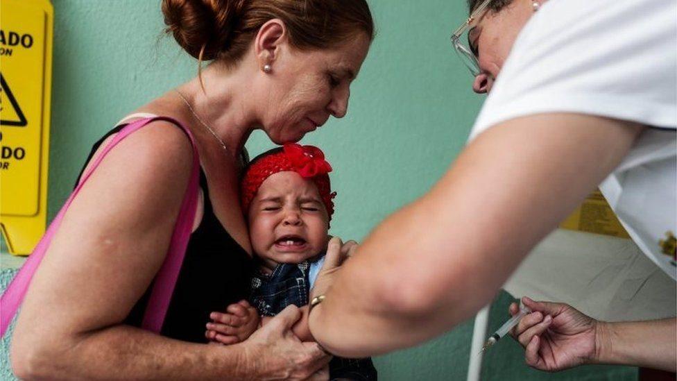 تهافت المواطنون في البرازيل على الحصول على المصل المضاد للحمى الصفراء وسط مخاوف من نفاده