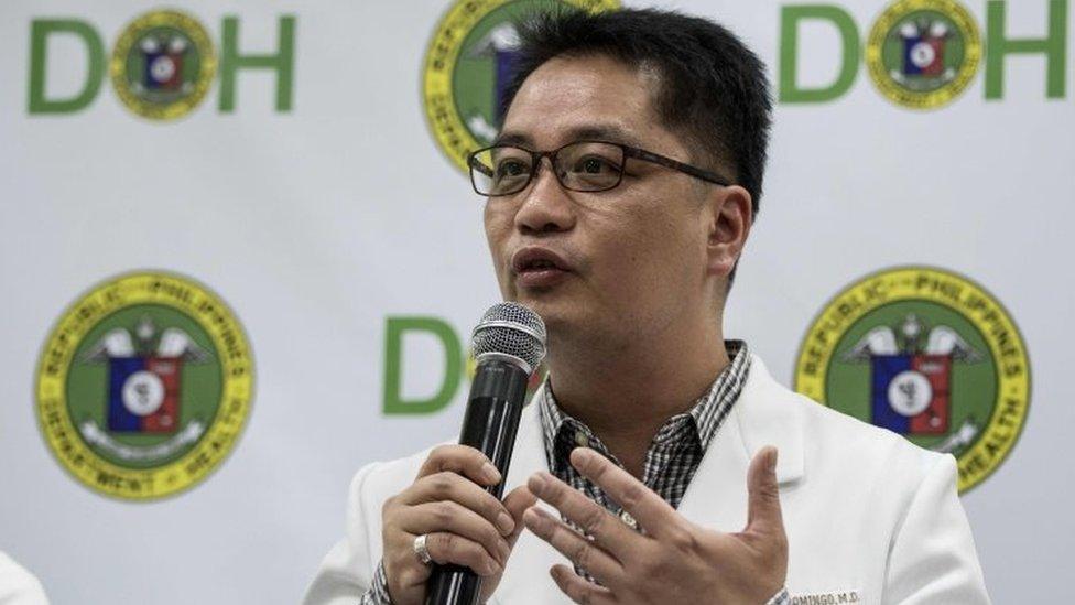 أعرب إنريك دومينغو عن مخاوفه من انتشار محتمل لأوبئة في الفلبين