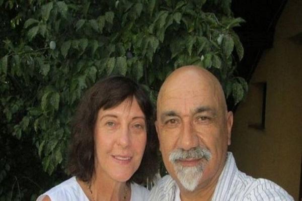 ميرزا كروباليجا مع صديقته أزرا سابادوس