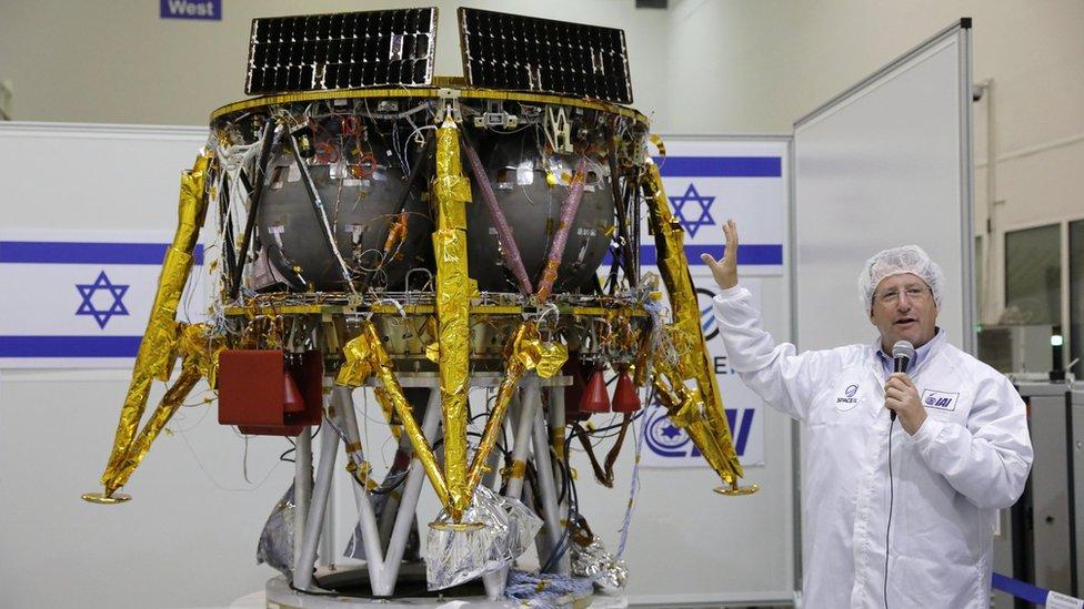 يقول عوفر دورون، من شركة الصناعات الفضائية الإسرائيلية، إن المسبار