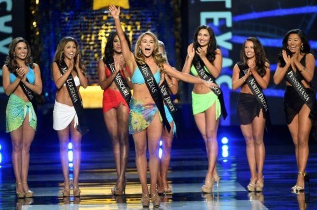 ملكة جمال تكساس مارغانا وود كانت صريحة في انتقاد ترامب