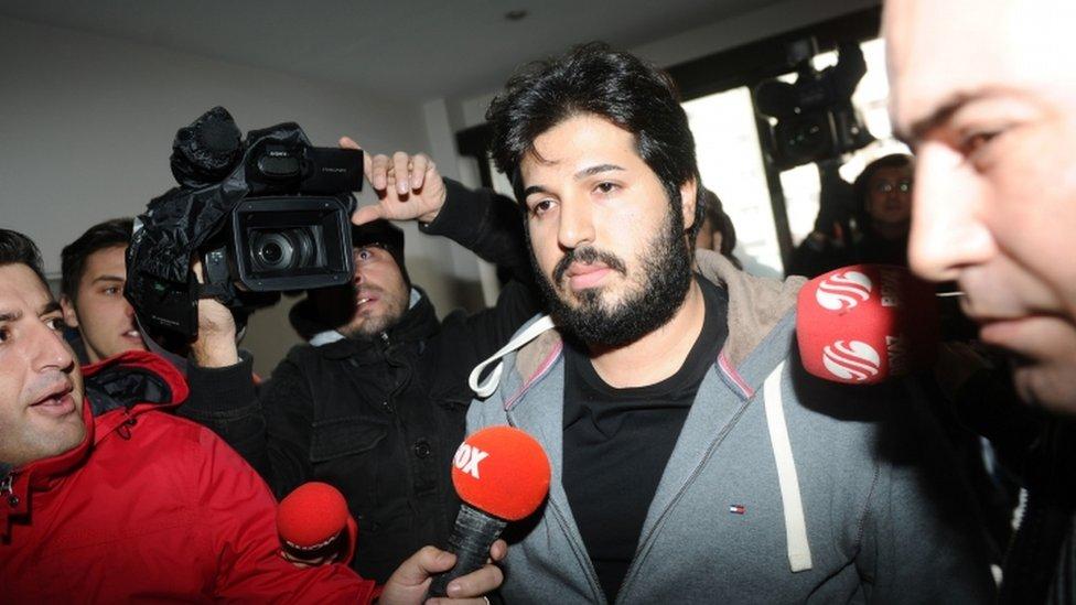 هناك انباء عن حصول القضاء الامريكي على وثائق تحقيقات عام 2013 التركية