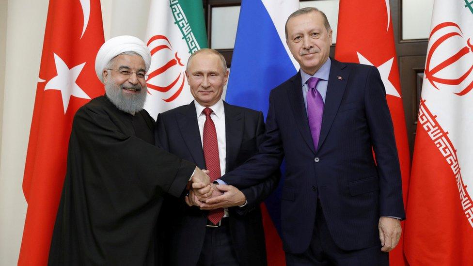 جاءت قمة سوتشي بعد زيارة مفاجئة لبشار الأسد إلى روسيا.