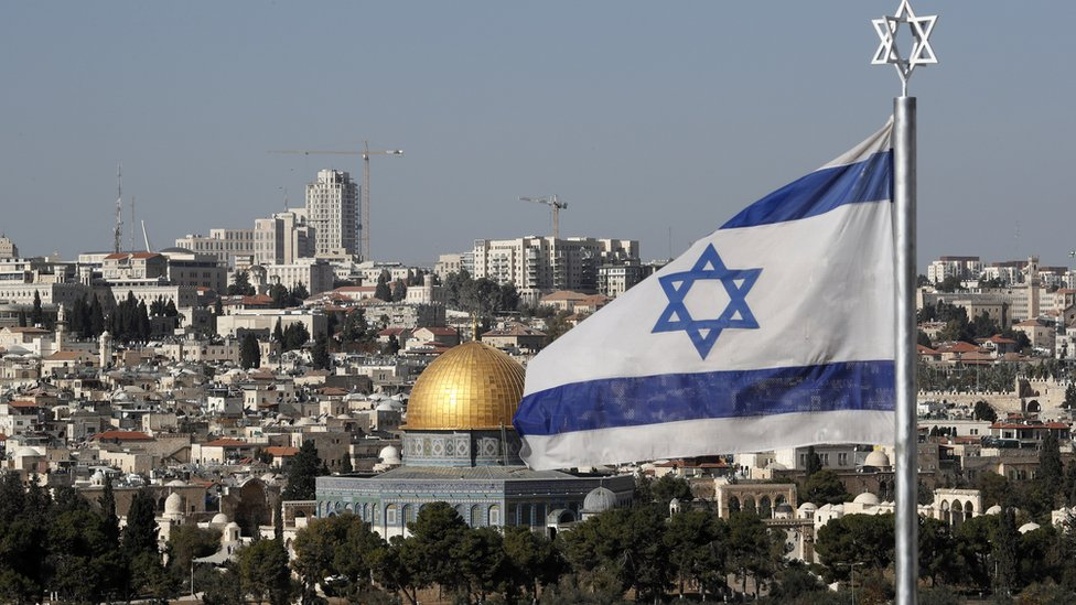 إسرائيل تعتبر القدس كلها عاصمة أبدية لها.