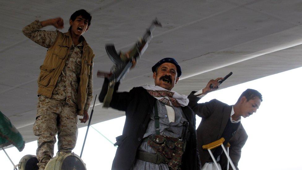 مسلحو الحوثيين ينتشرون في أرجاء صنعاء