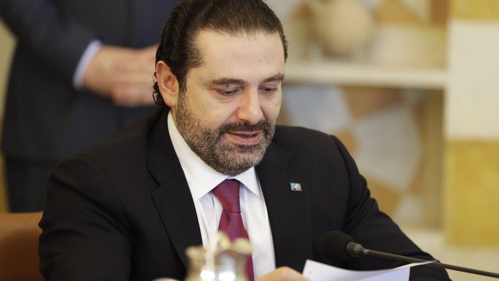الحريري أعلن عن استقالته أثناء وجوده في السعودية قبل أن يتراجع عنها