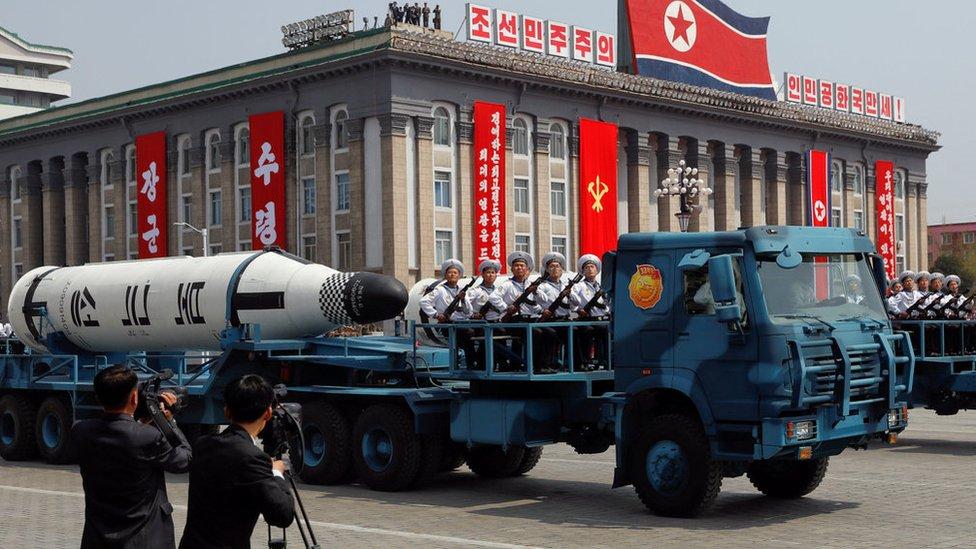 تصريحات نارية بين الولايات المتحدة وكوريا الشمالية