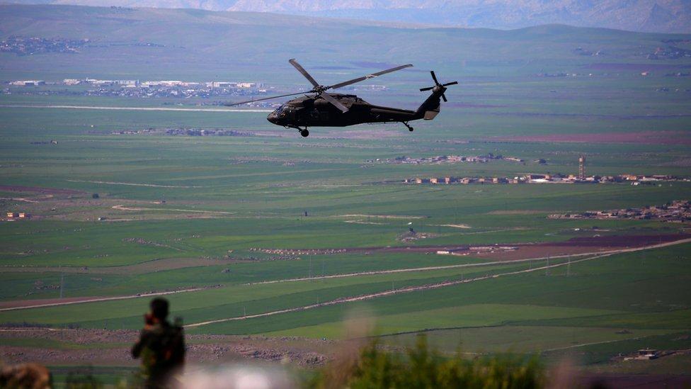 غارات التحالف تدعم مقاتلي سوريا الديمقراطية التي تقاتل تنظيم الدولة الإسلاتمية