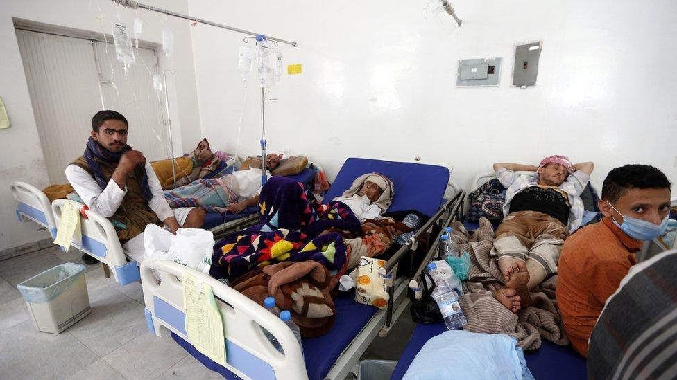 اللجنة الدولية للصيب الأحمر أعلنت الإثنين وفاة 184 شخصا بسبب المرض منذ 27 أبريل/ نيسان الماضي باليمن