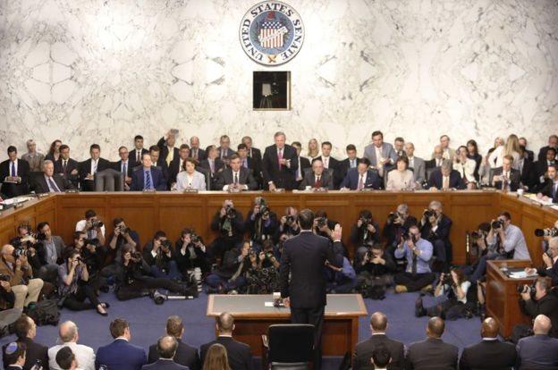 أدلى كومي بشهادته أمام الكونغرس حول إقالته