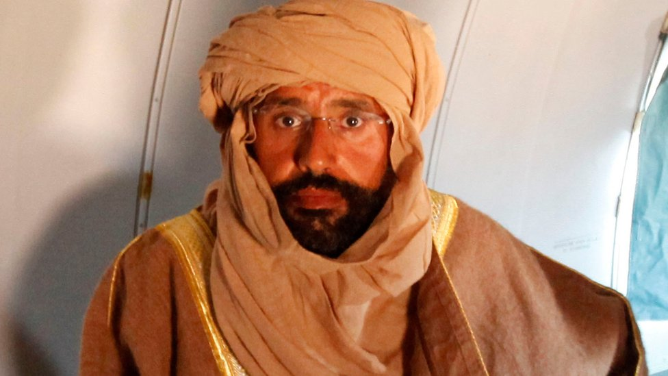 سيف الإسلام ظل حبيس السجن منذ 2011