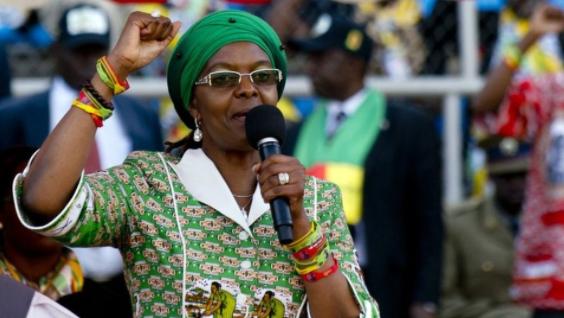 زوجة موغابي تتغيب عن قمة نسائية للسيدات الأوليات في جنوب أفريقيا