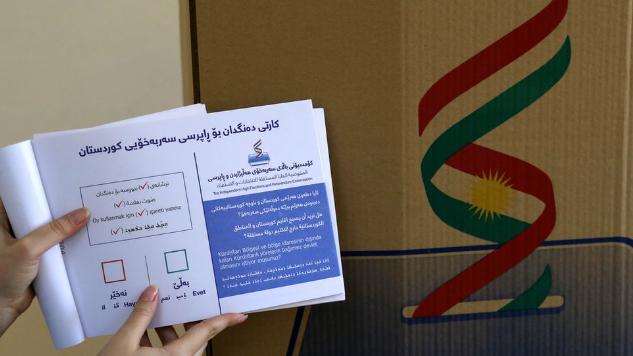 استفتاء كردستان: الناخبون الأكراد يصوتون على الانفصال