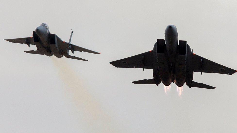 الطائرات شنت الهجوم من الأراضي اللبنانية