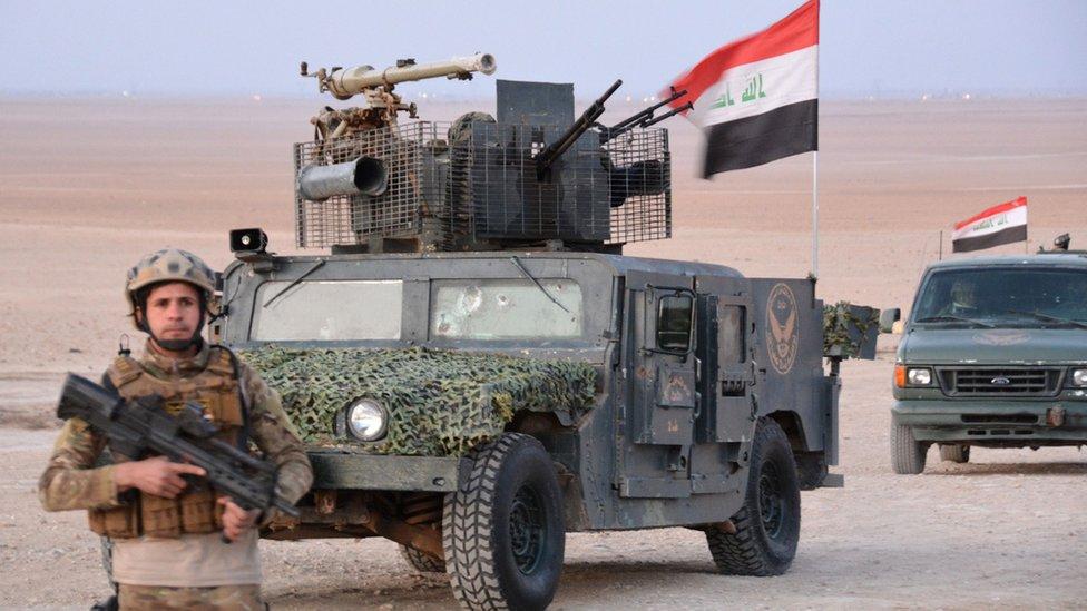 قيادة عمليات الرد السريع تبدأ عملية عسكرية لتعقب بقايا تنظيم الدولة