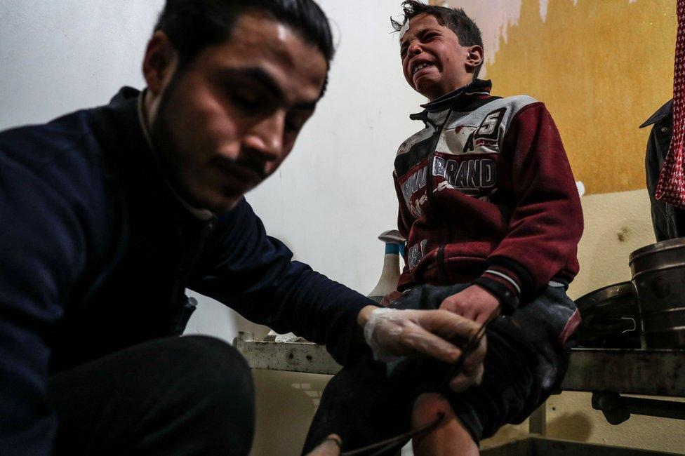الأمم المتحدة تحذر من أن الغوطة الشرقية قد تستحيل إلى حلب ثانية