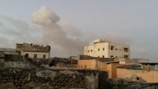 تفجير سيارتين مفخختين بمحيط مقر الرئاسة الصومالية