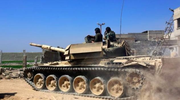 قوات الحكومة السورية
