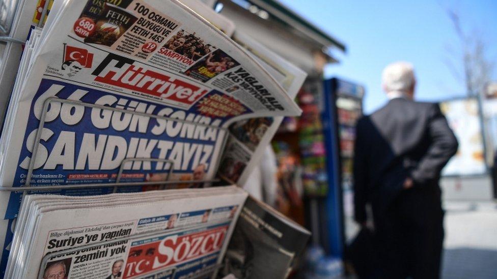 تعرض صحفيون للتحقيق في تركيا واتهم بعضهم بالإرهاب