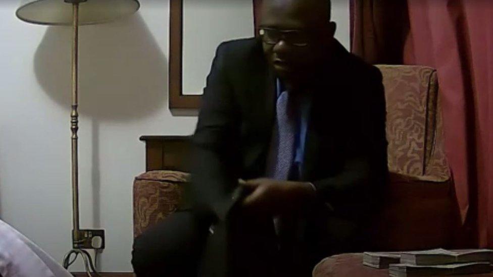 نائب رئيس الكاف ورئيس الاتحاد الغاني لكرة القدم