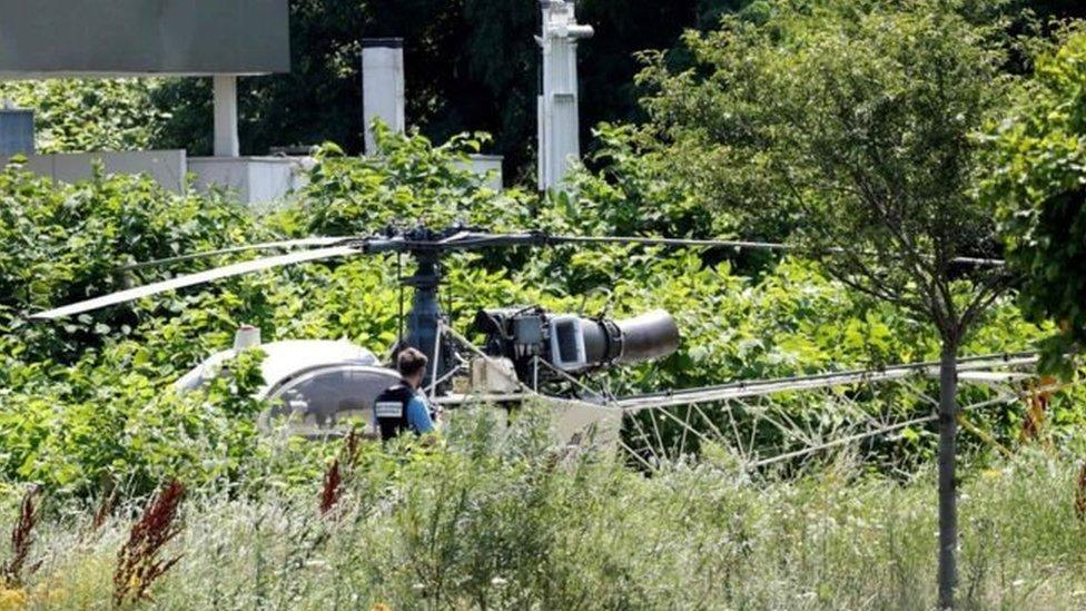 رضوان فايد: كيف استطاع لص شهير الفرار بمروحية من سجنه في باريس