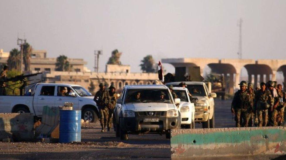 القوات الحكومية تسيطر على 80 بالمائة من محافظة درعا وتستعد لمهاجمة مناطق تنظيم الدولة
