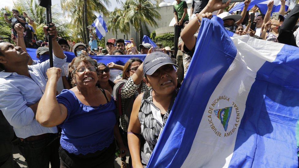 تواصل الاحتجاجات في نيكاراغوا للمطالبة بانتخابات مبكرة