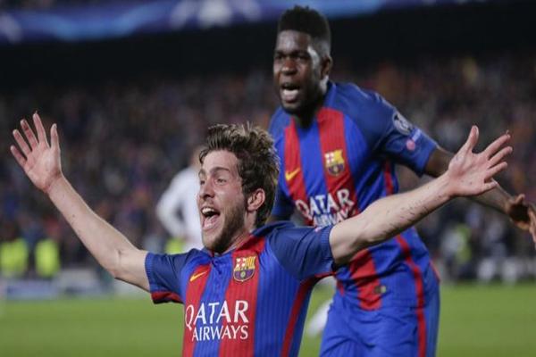 كان برشلونة مطالبا بالفوز بخمسة اهداف على الاقل قبل بداية اللقاء