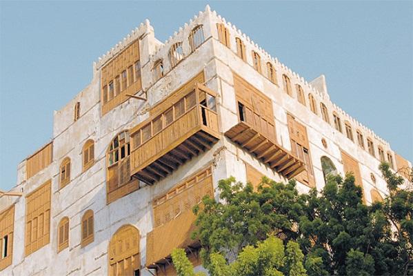 جانب من مدينة جدة التاريخية