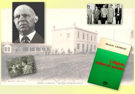 صور للراحل وكتبه ولحظة إيقافه مع زعماء الثورة الجزائرية في 1956
