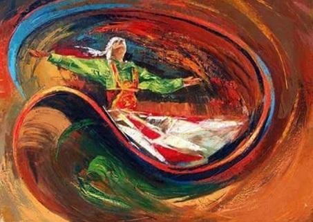 بريشة الفنانة التشكيلية مهدية التونسي