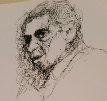 الشاعر بريشة محمّد خالد