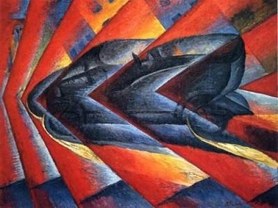 بريشة الفنان المستقبلي الإيطالي لويجي روسيلو