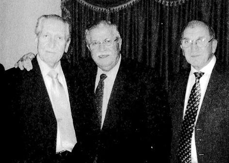 نصير الجادرجي مع رئيس الجمهورية السابق جلال الطالباني