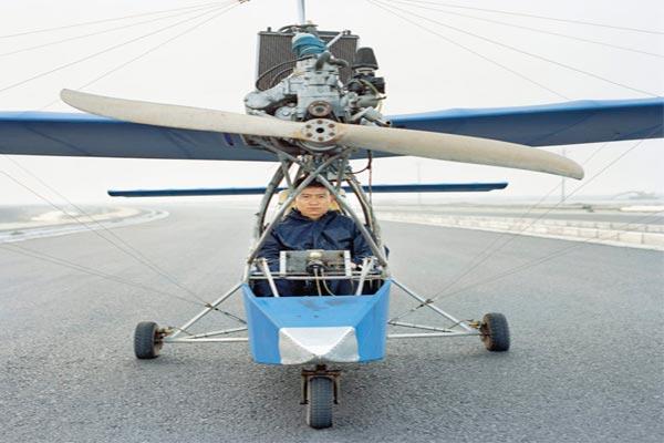 مزارعون صينيون يبتكرون طائراتهم بأنفسهم