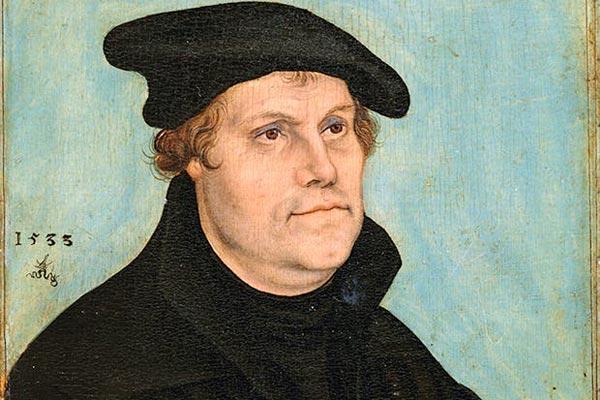 مارتن لوثر (10 نوفمبر 1483 - 18 فبراير 1546)