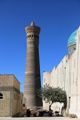 منارة كاليان (1127، بخارى، منظر عام