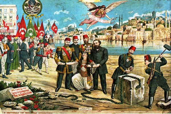 وضعت الدول الكبرى المنتصرة خططًا لتقسيم الأراضي العثمانية