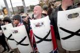تجمع للمؤيديين للقومية البيضاء في شيلبيفيل بولاية تينيسي