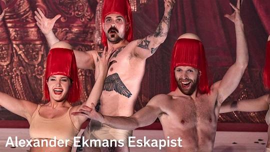 الهروب رقص معاصر في الاوبرا الملكية في ستوكهولم