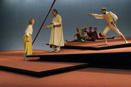 مسرحية العاصفة للكاتب وليم شكسبير في مسرح مدينة ستوكهولم